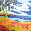 Una-giornata-sul-lago-2009-olio-su-tela-cm-100-x-70