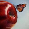 2°La-mela-del-peccato-olio-su-tela-24x30