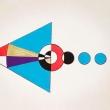 LA DIREZIONE - Penna e pennarelli su carta cotone, 31x23cm