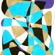 LAGUNA - Penna e pennarelli su carta, 29x21cm