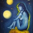 Cosmic-woman-70x90