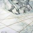 dallo-spazio-grafite-su-acrilico-cm-44-x-44