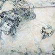 la-resa-dei-conti-grafite-su-acrilico-cm-45-x-40